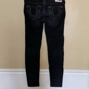 Vintage True Religion Corduroy Black Pants 28